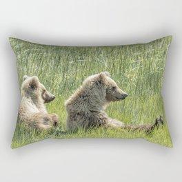 Unbearably Cute - Bear Cubs, No. 5 Rectangular Pillow