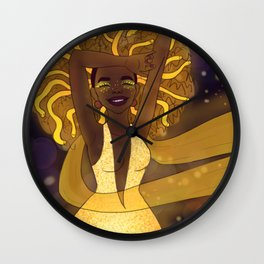 LAUGHING MEDUSA Wall Clock