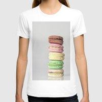 macarons T-shirts featuring Macarons by Lucía Gámez
