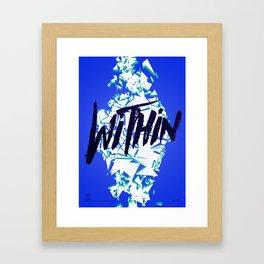 Daft Punk: Within Framed Art Print