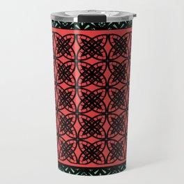 Art Deco Bohemian Mosaic 2 Travel Mug