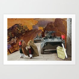 Soviet and Nicotine Withdrawal Art Print