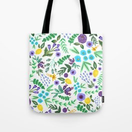 Lavender and Lemons Tote Bag