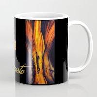 namaste Mugs featuring Namaste by Thom Lupari
