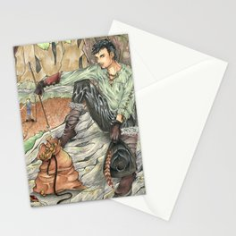 A Magpie`s Loot Stationery Cards