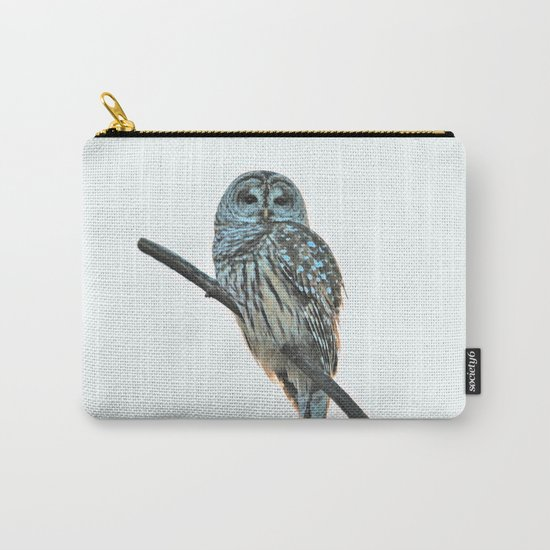 Barred Owl at Sunset Carry-All Pouch