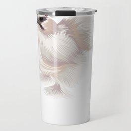 Funny Silkie Chicken Pullover Hoodie Travel Mug
