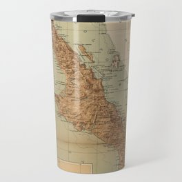 Vintage Map of Baja California (1922) Travel Mug