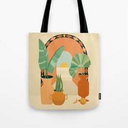 Doorway to Morocco Tote Bag
