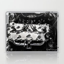 Vintage Mercury Flathead Engine Laptop & iPad Skin