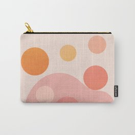 Abstraction_COLOR_DOTS_PLAYFUL_Minimalism_001 Carry-All Pouch