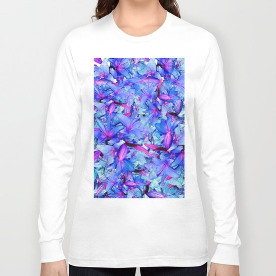 LILY BLUE BOUNTIFUL Long Sleeve T-shirt