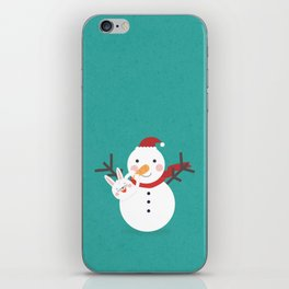 Snow Nose Installation iPhone Skin