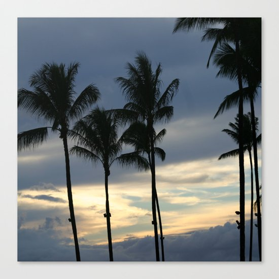 Maui: Sunset Canvas Print