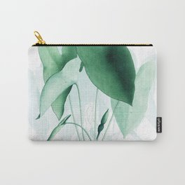 Green Plants Carry-All Pouch