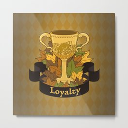 Cup of Loyalty Metal Print