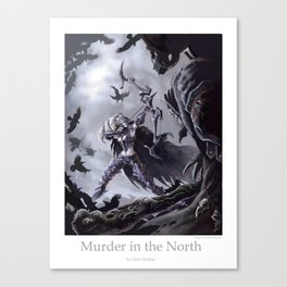 Murder in the North Canvas Print