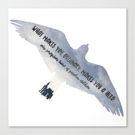- what makes you ordinary - miss peregrines Canvas Print