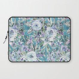 MAUI MINDSET Mystic Aqua Floral Laptop Sleeve