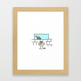 Sink. Framed Art Print