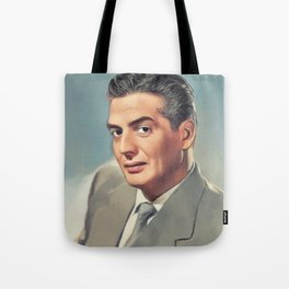 Victor Mature, Movie Legend Tote Bag