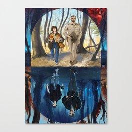 Stranger World Canvas Print