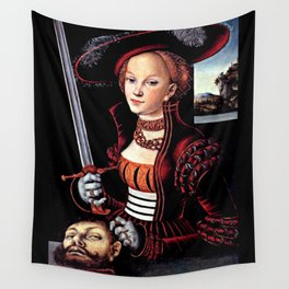 Judith with the Head of Holofernes Wall Tapestry