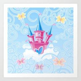 Fairy Castle Art Print