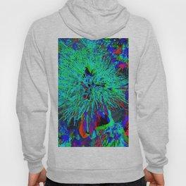 """Kiwi Lifestyle"" - Pohutukawa NZ Blue Bloom- Pop ART Hoody"