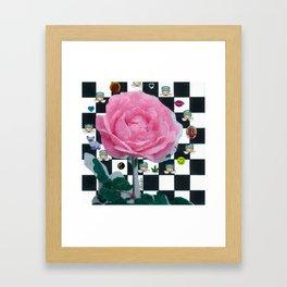 MY ROSE IS KAWAII Framed Art Print