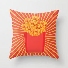 Revolucion con Fritas Throw Pillow