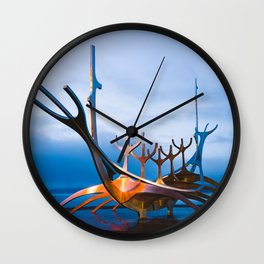 Ode to the Sun Wall Clock