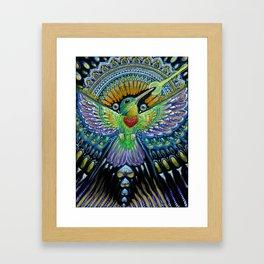 Colibri / Beija Flor II Framed Art Print