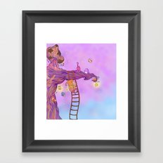 The Star keeper Framed Art Print