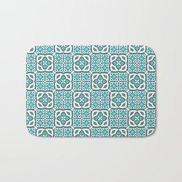 Moroccan Tile Geometric Mandala Bath Mat