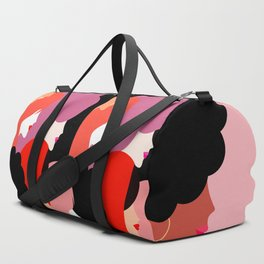 Together Girl Power - Pattern #girlpower Duffle Bag
