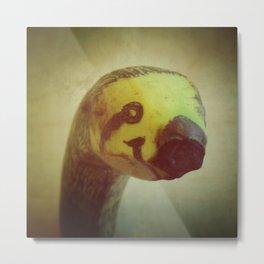 Banana Sloth Metal Print