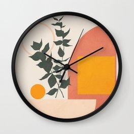Geometric Modern Art 42 Wall Clock