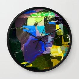 Bright Shadows Wall Clock