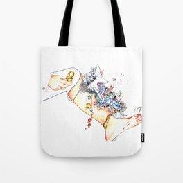 "Original illustration-""Legs City "" Tote Bag"