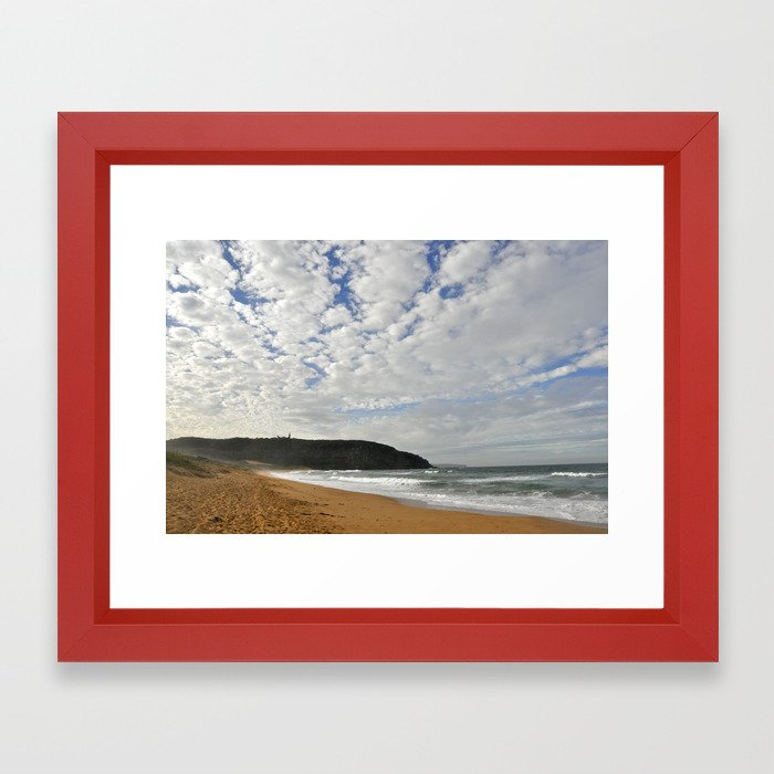 Formations in the sky Framed Art Print