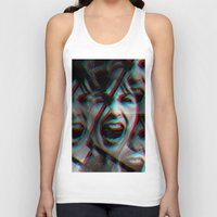 psycho Tank Tops featuring PSYCHO by Inception of The Matrix