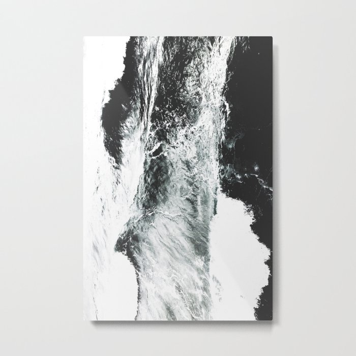 Abstract ocean Metal Print