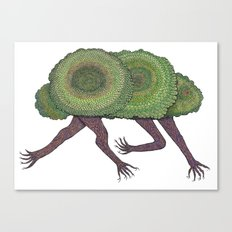 Creeping Shrubbery Canvas Print