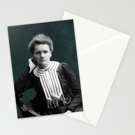 Young Marie Curie, 1903 Stationery Cards