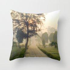 Pathway Throw Pillow
