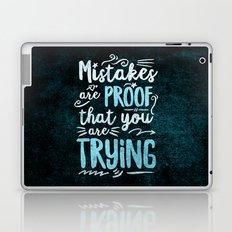 Mistakes Laptop & iPad Skin