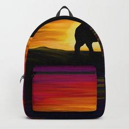 Elephant Sunset Backpack