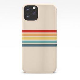 Takaakira - Classic Rainbow Retro Stripes iPhone Case