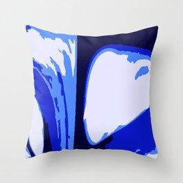 The Blues Throw Pillow